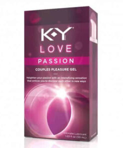 K-Y Love Passion Couples Pleasure Gel (100ml)